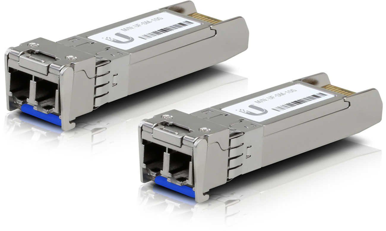 Moduł SFP Ubiquiti UF-SM-10G Single-Mode 10Gb/s SFP+ 2xLC (2 szt.)