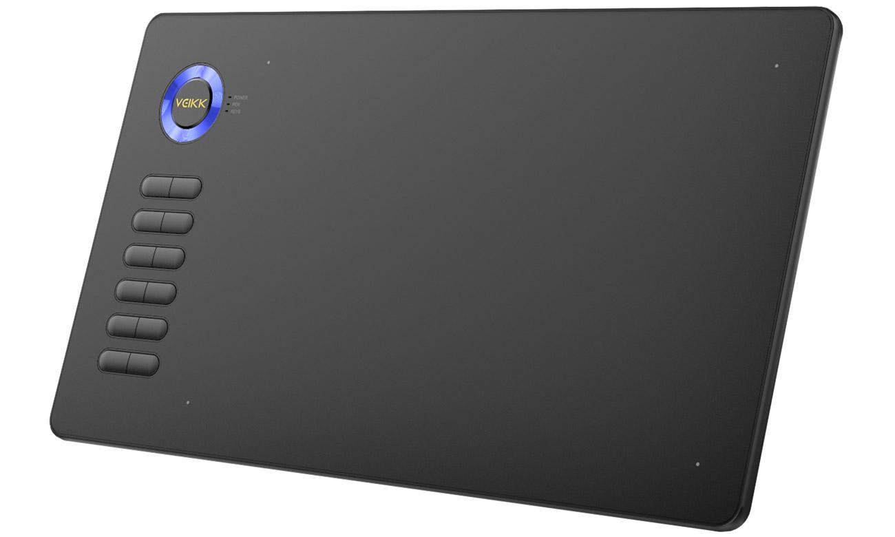 Tablet graficzny Veikk A15 Czarno-niebieski