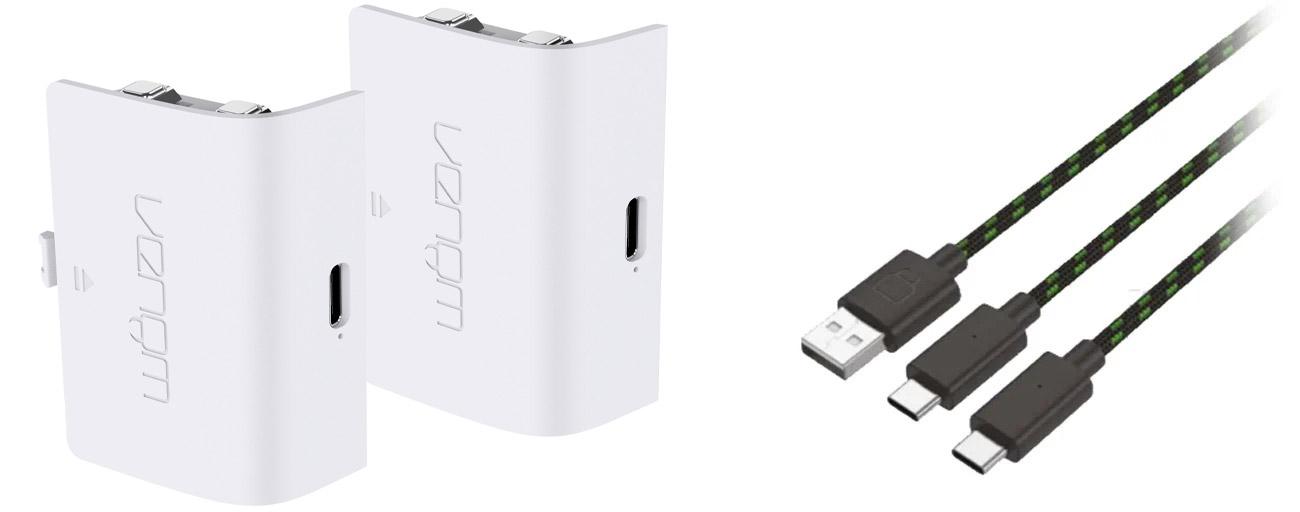 Podwójny akumulator + 3-metrowy kabel ładujący Venom do konsoli Xbox Series X|S