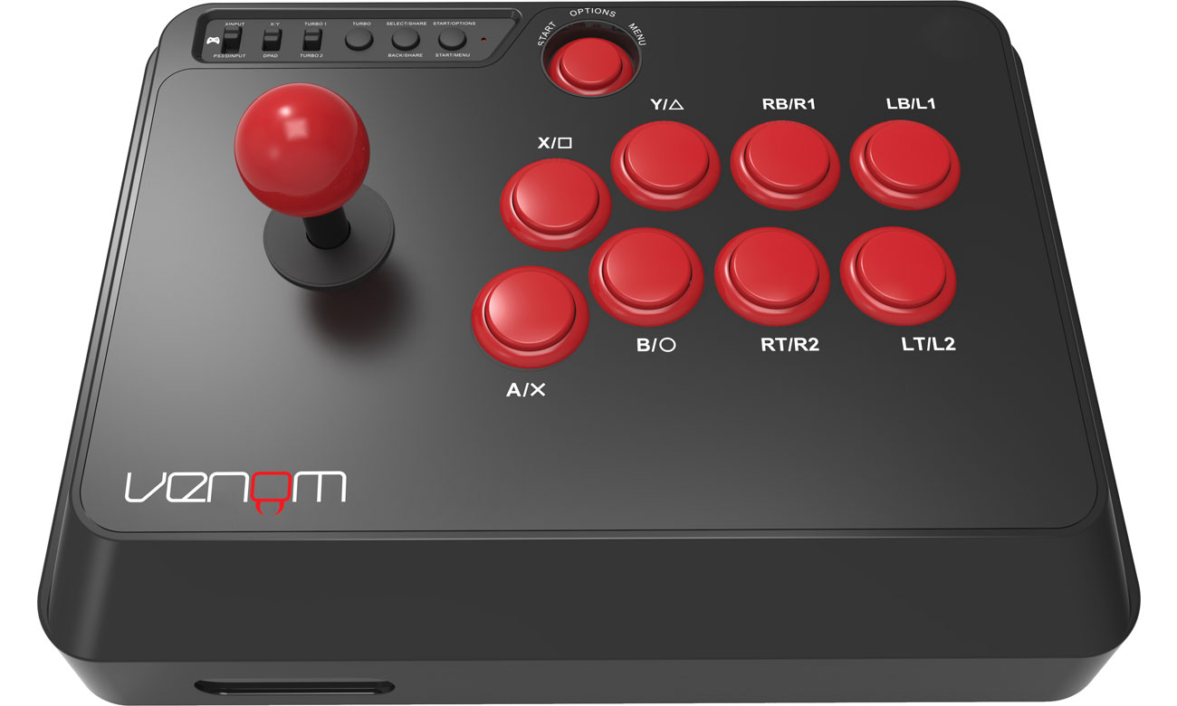 Kontroler do gier Venom Arcade Fight Stick