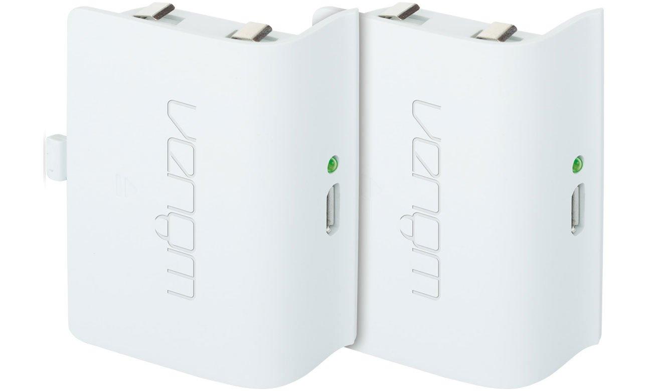 Podwójny akumulator + 2-metrowy kabel ładujący Venom do konsoli Xbox One
