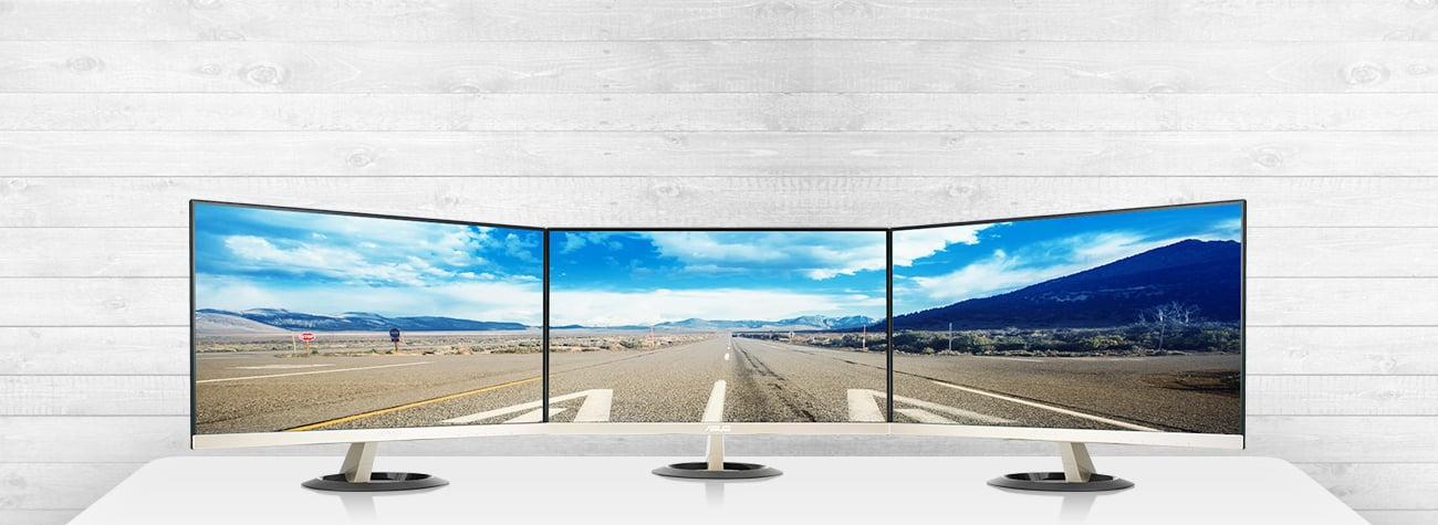 Asus VZ249Q panoramiczny ekran