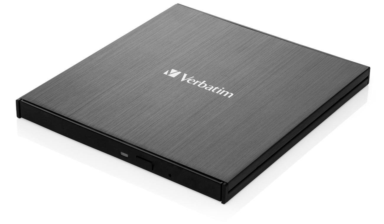 Nagrywarka płyt CD/DVD Verbatim Slimline X6 Ultra HD 4K