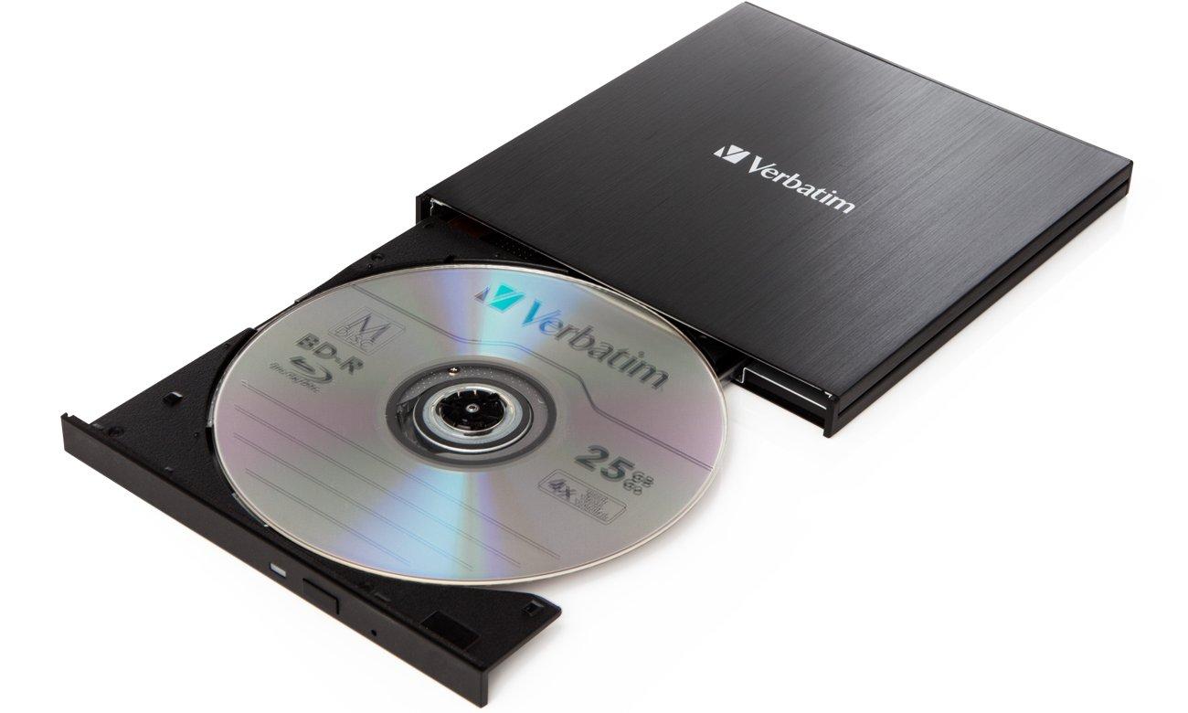 Nagrywarka płyt CD/DVD Verbatim Slimline X6