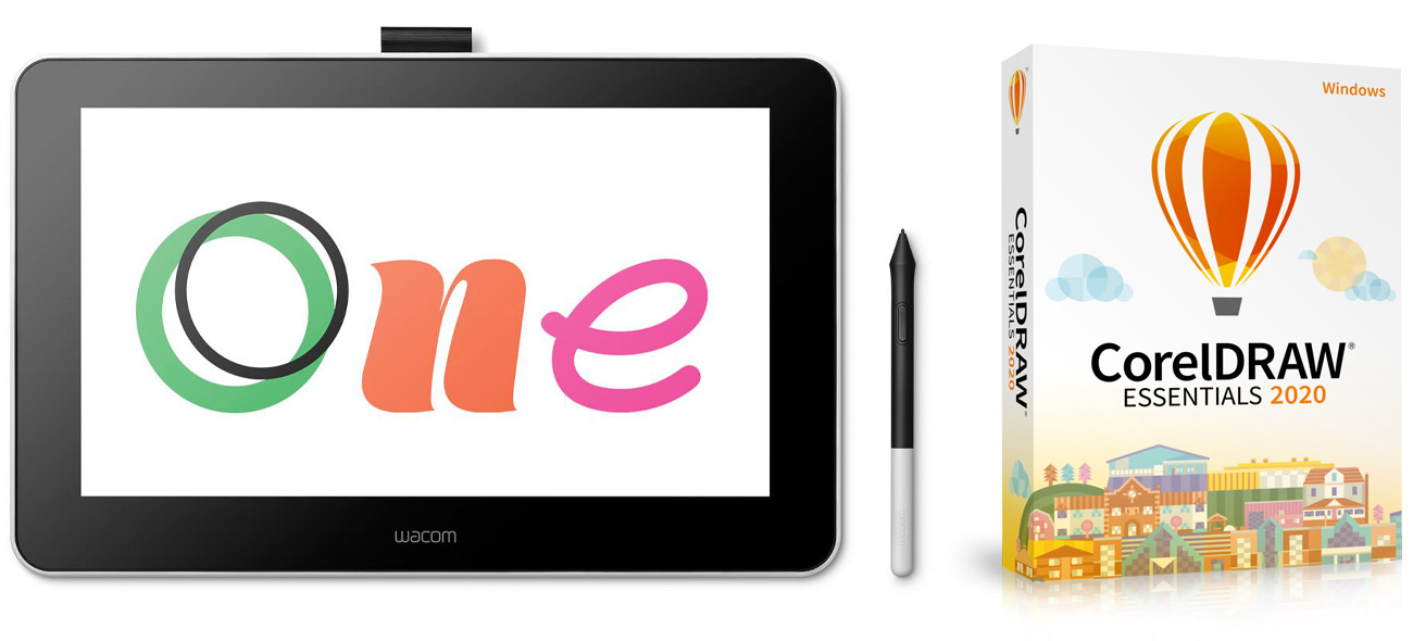 Tablet graficzny Wacom One Display 13'' DTC-133W0B