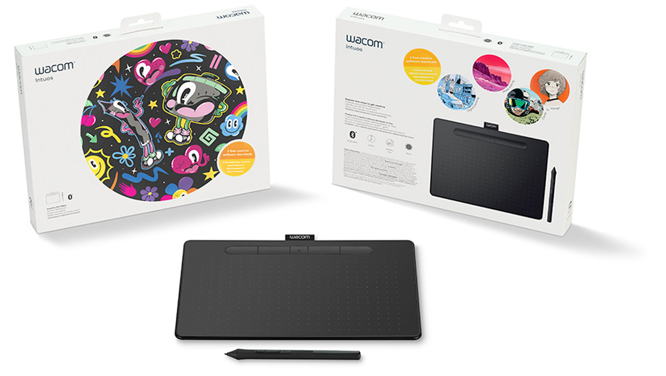 Tablet Wacom Intuos M Pen i Bluetooth