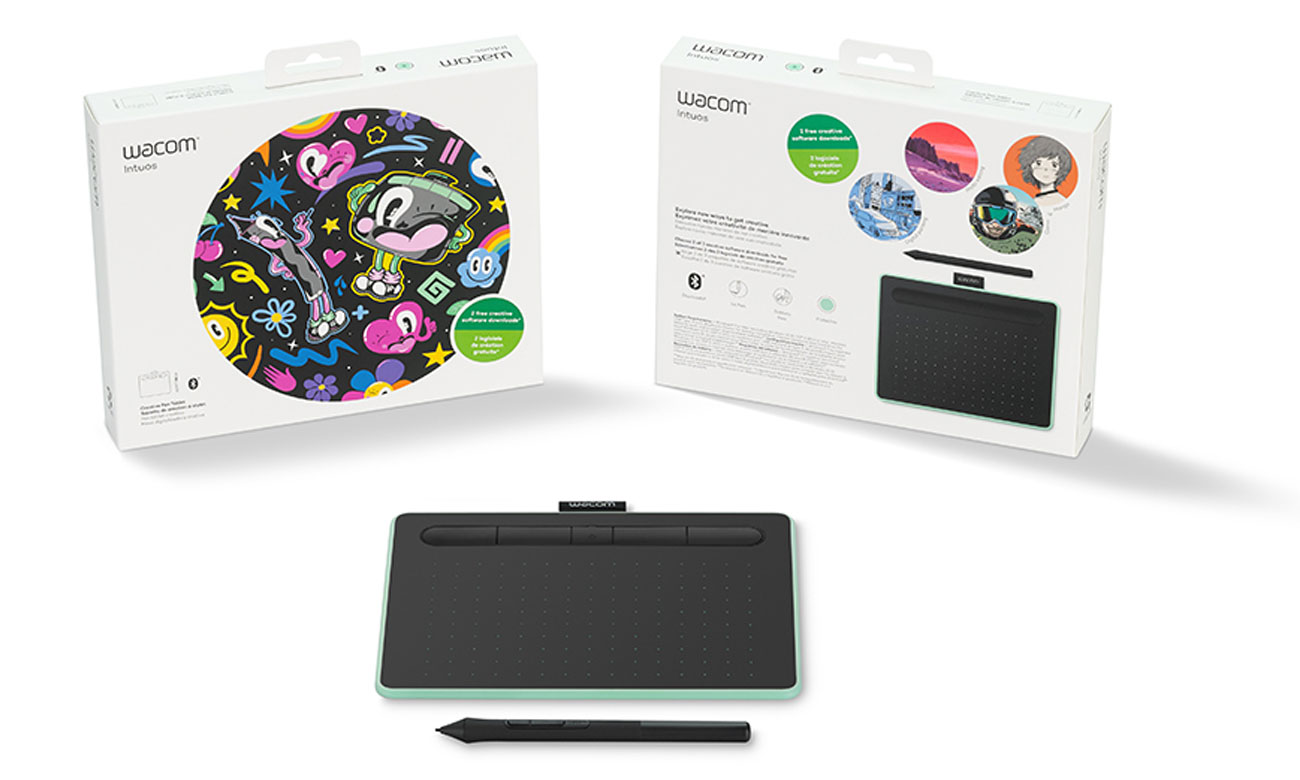 Tablet Wacom Intuos S Pen i Bluetooth