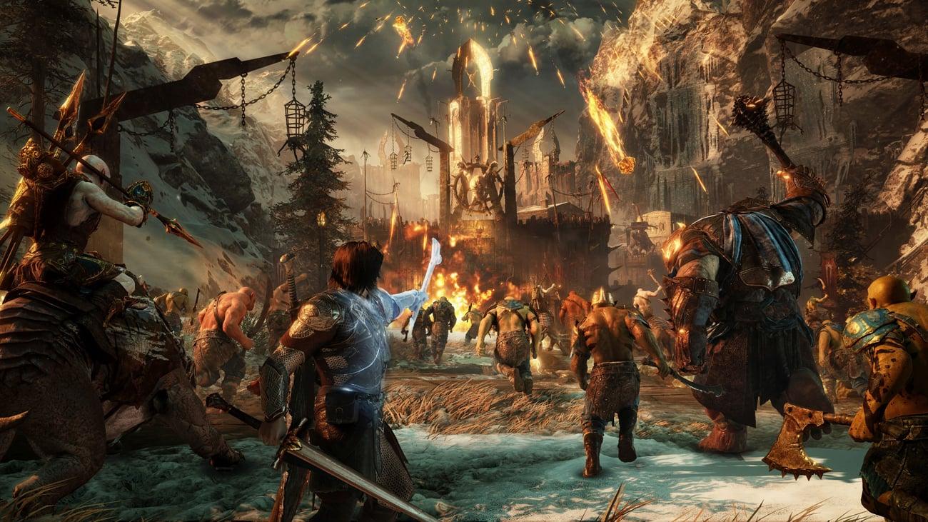 Śródziemie: Cień Wojny Rozbudowany świat gry