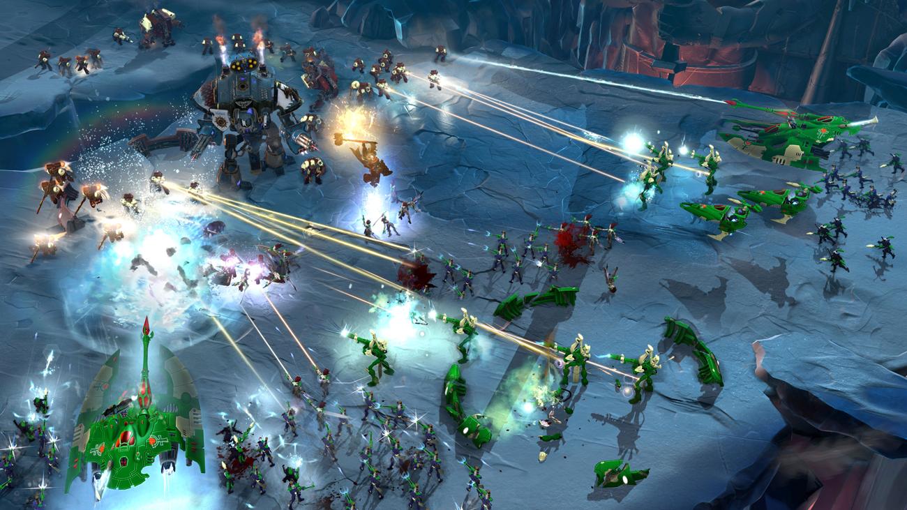 Warhammer 40000: Dawn of War III Bitwy