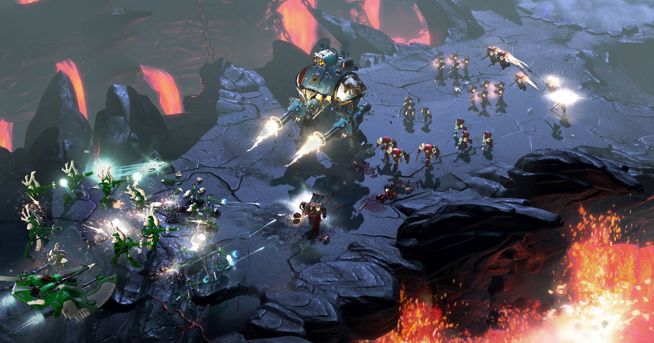 Warhammer 40000: Dawn of War III Gra w sieci