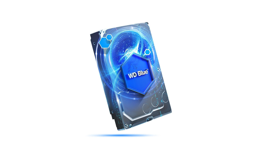 Festplattenleben WD HDD Blue 3,5 Zoll 4.0 TB 5400 64MB SATA
