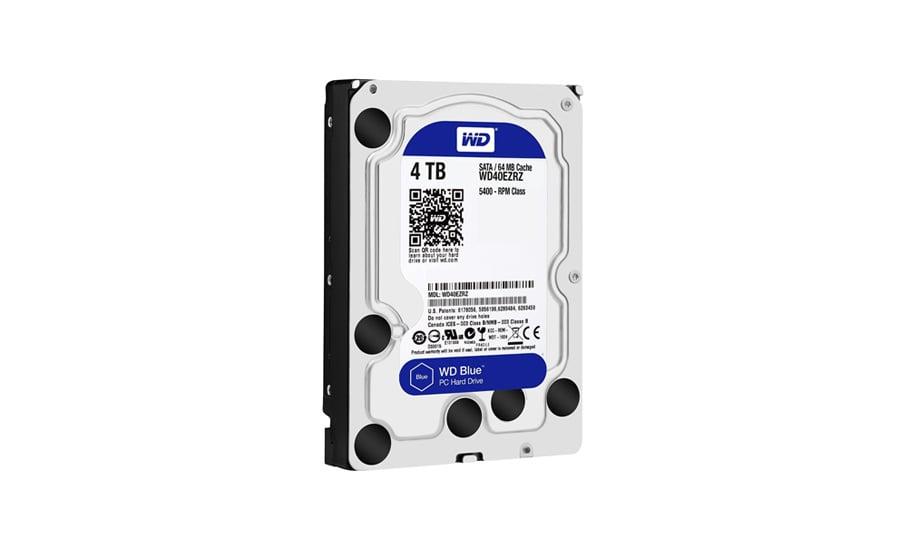 Dysk twardy SATA III WD 4TB 5400obr. 64MB BLUE - test integralności