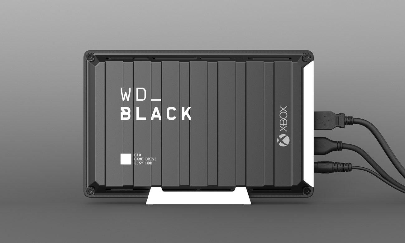 Dysk do konsoli WD Black D10 12TB Xbox USB 3.0 WDBA5E0120HBK-EESN