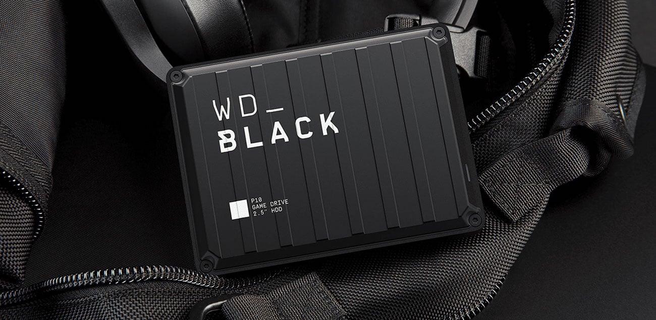 WD Black P10 Game Drive - Przenośna konstrukcja