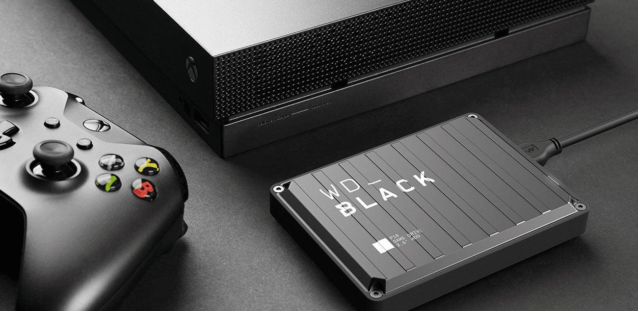 WD Black P10 Game Drive - Interfejs USB