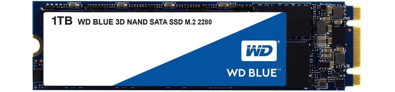 Dysk SSD 1TB WD Blue SSD M.2 2280 3D NAND WDS100T2B0B