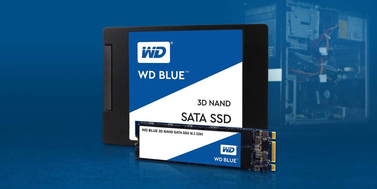 WD Blue SSD 3D NAND SATA i M.2
