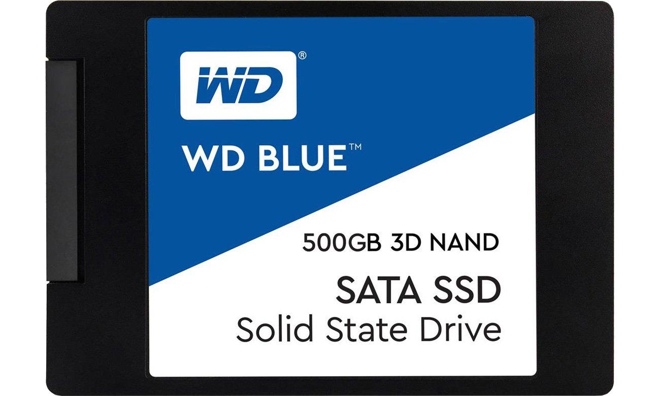 Dysk SSD 500GB WD Blue SSD 3D NAND WDS500G2B0A