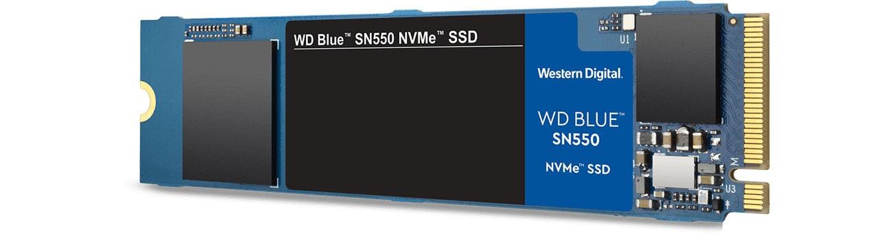 Dysk SSD WD 1TB M.2 PCIe NVMe Blue SN550 WDS100T2B0C