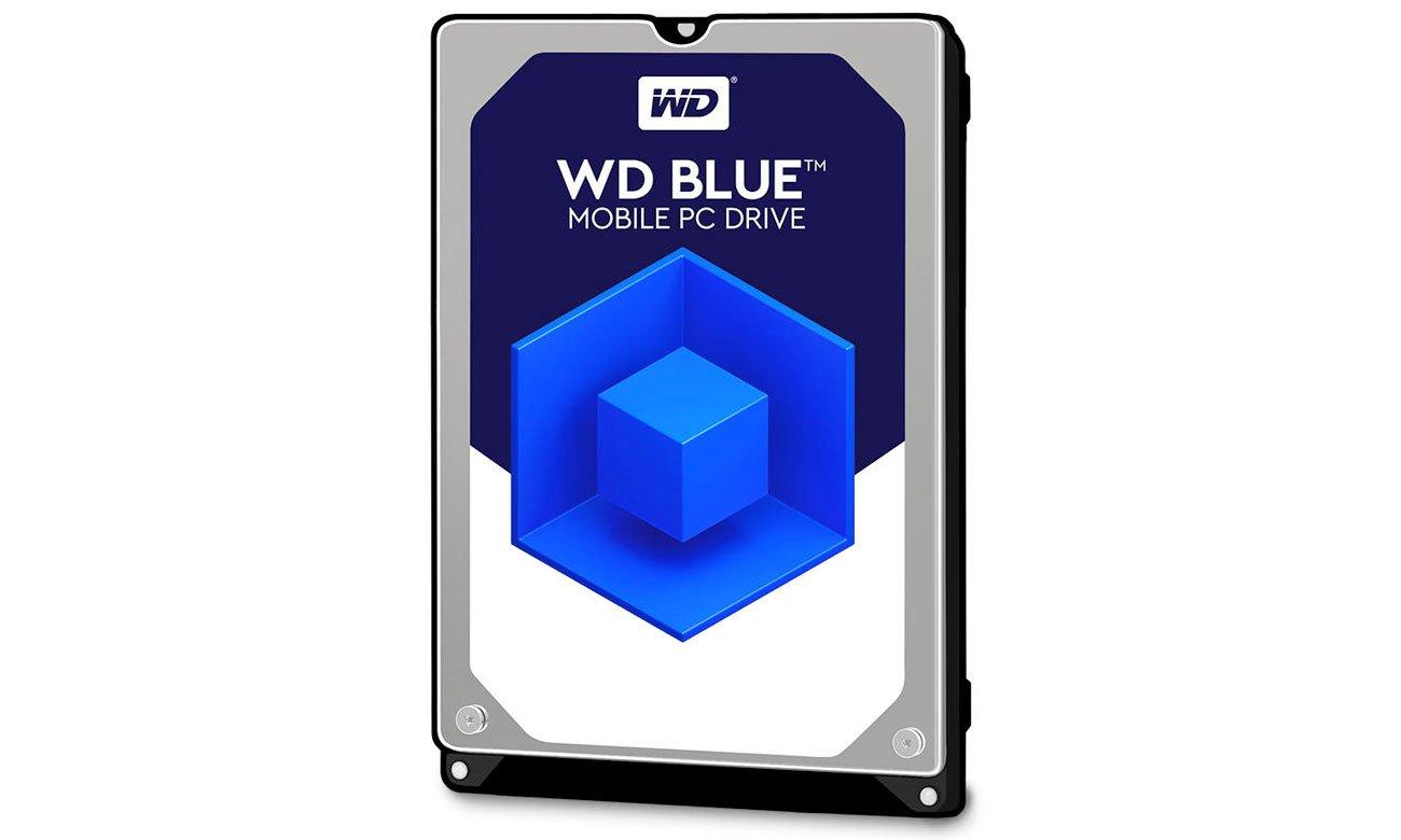 Dysk HDD WD 2TB 5400obr. Blue 7mm Testowanie integralności funkcjonalnej