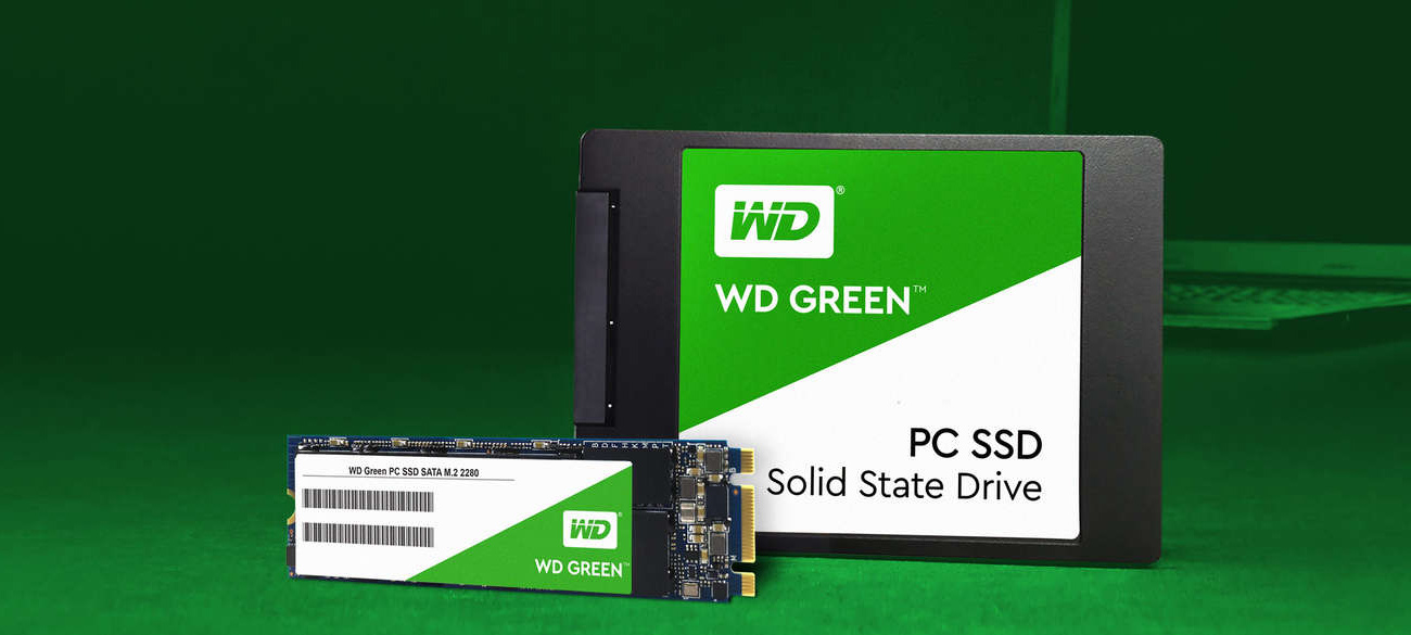120GB WD Green SSD