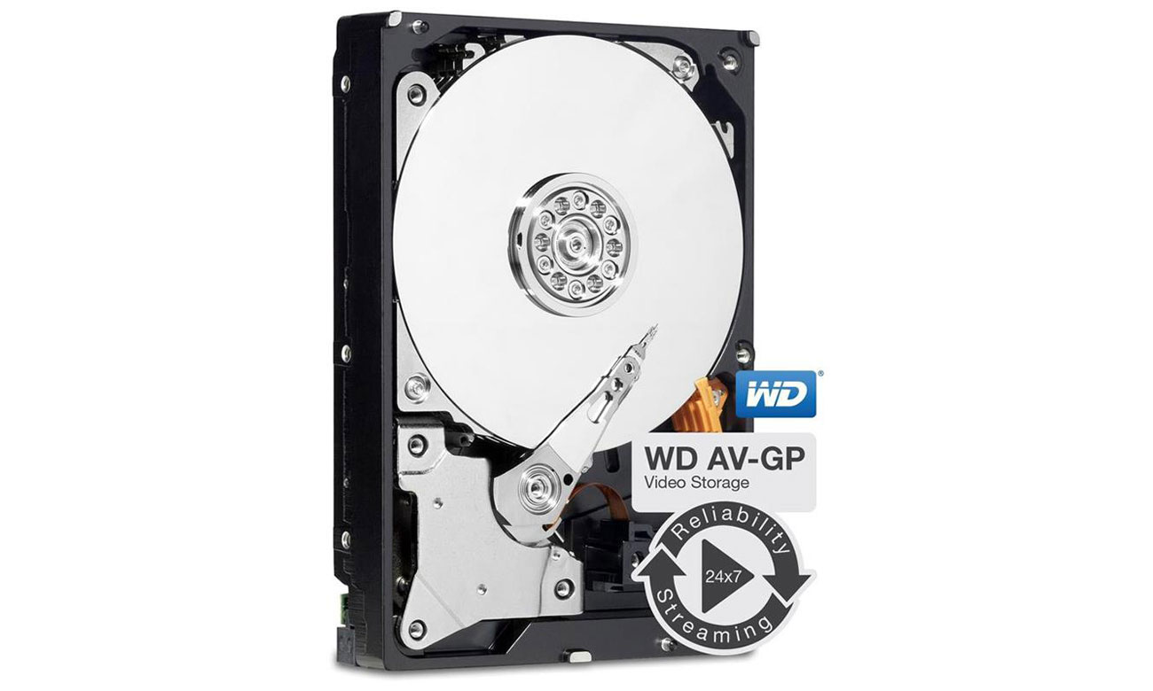 3TB IntelliPower 64MB AV-GP WD30EURX niska temperatura
