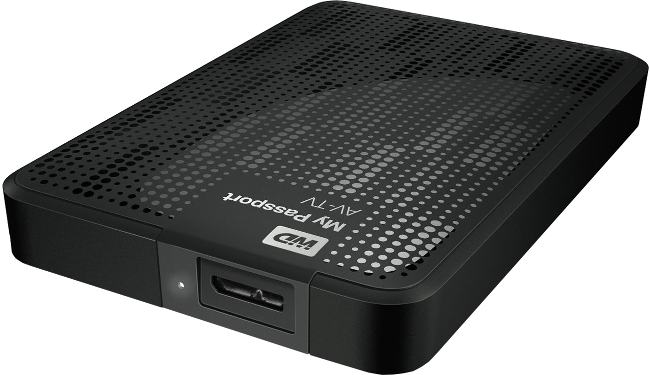 WD My Passport AV-TV - USB 3.0 i USB 2.0