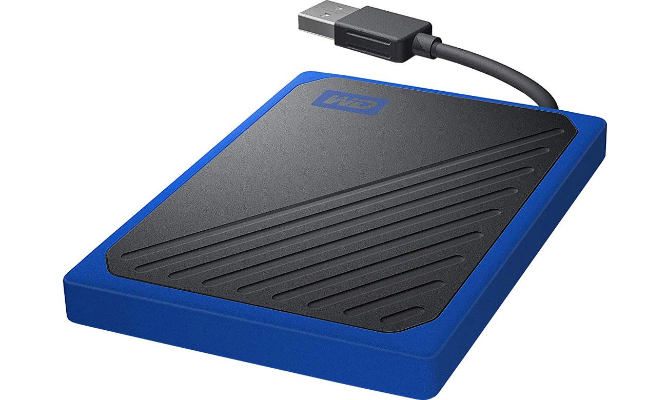 Dysk przenośny WD My Passport Go SSD 1TB niebieski