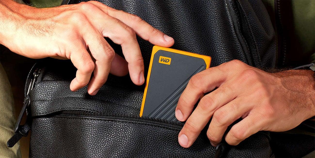 WD My Passport Go SSD - Przenośny, mobilny dysk