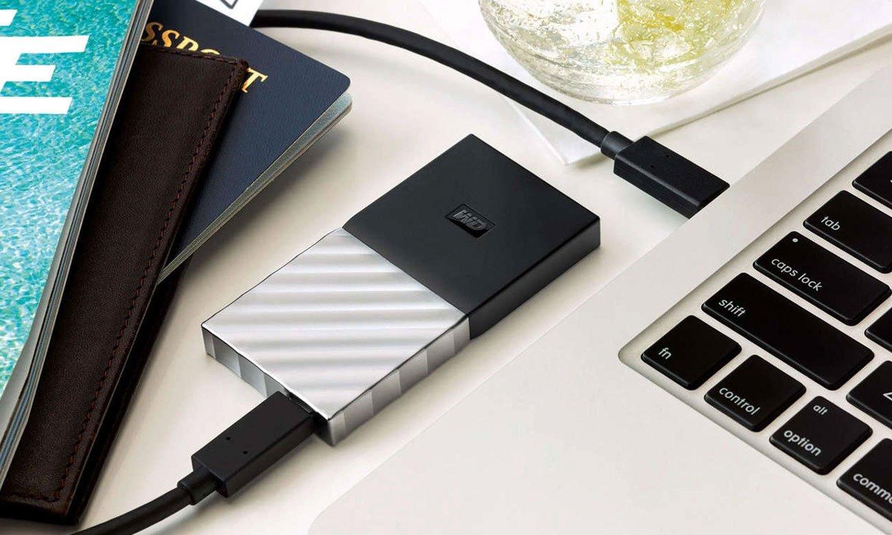 WD My Passport SSD Portable Storage - Kabel USB 3.1 Typu-C