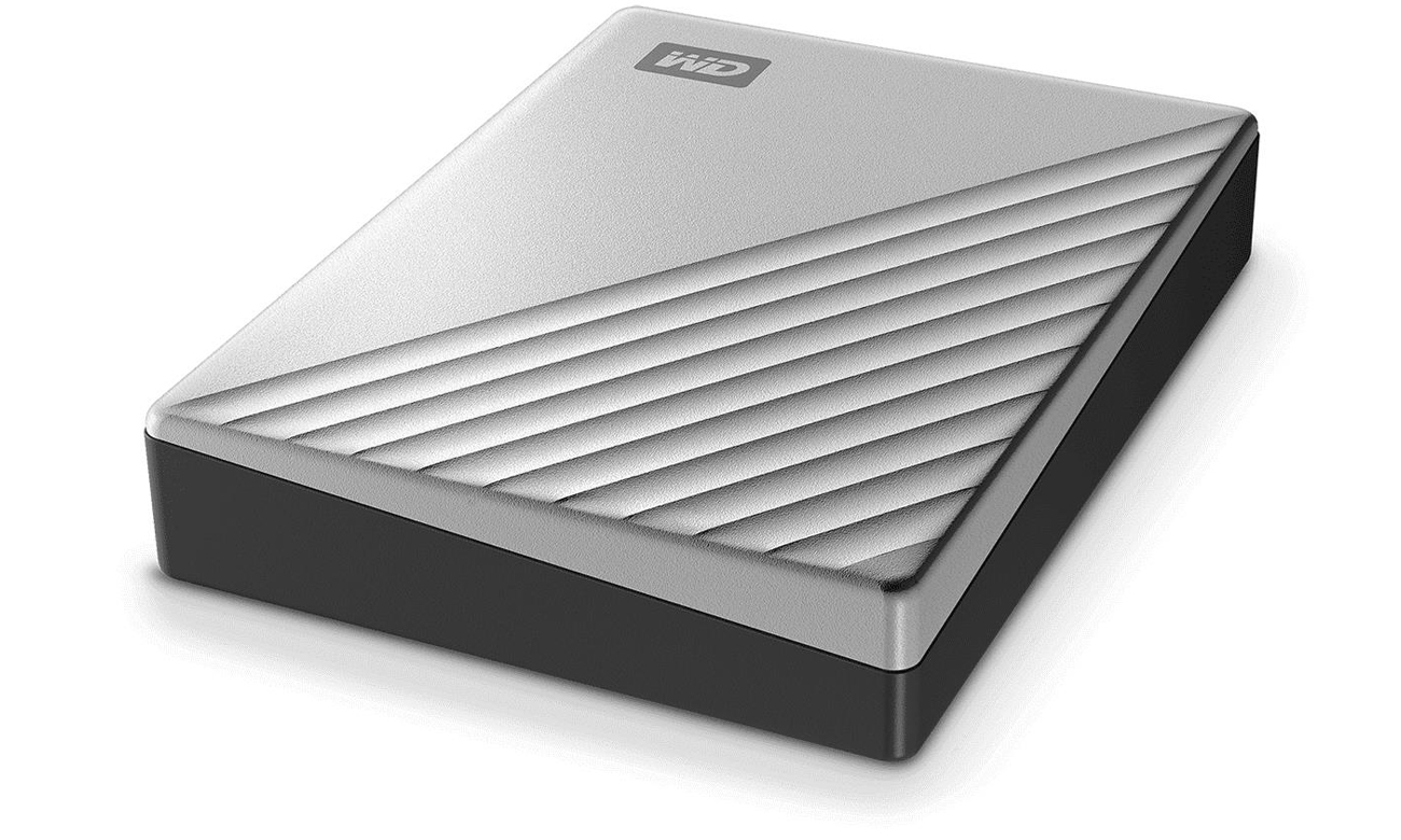 Przenośny dysk HDD WD My Passport Ultra 4TB Srebrny