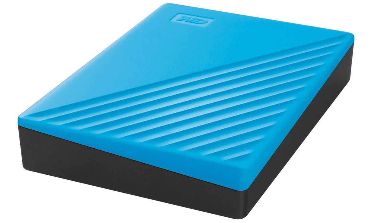 Przenośny dysk HDD WD My Passport 4TB Niebieski