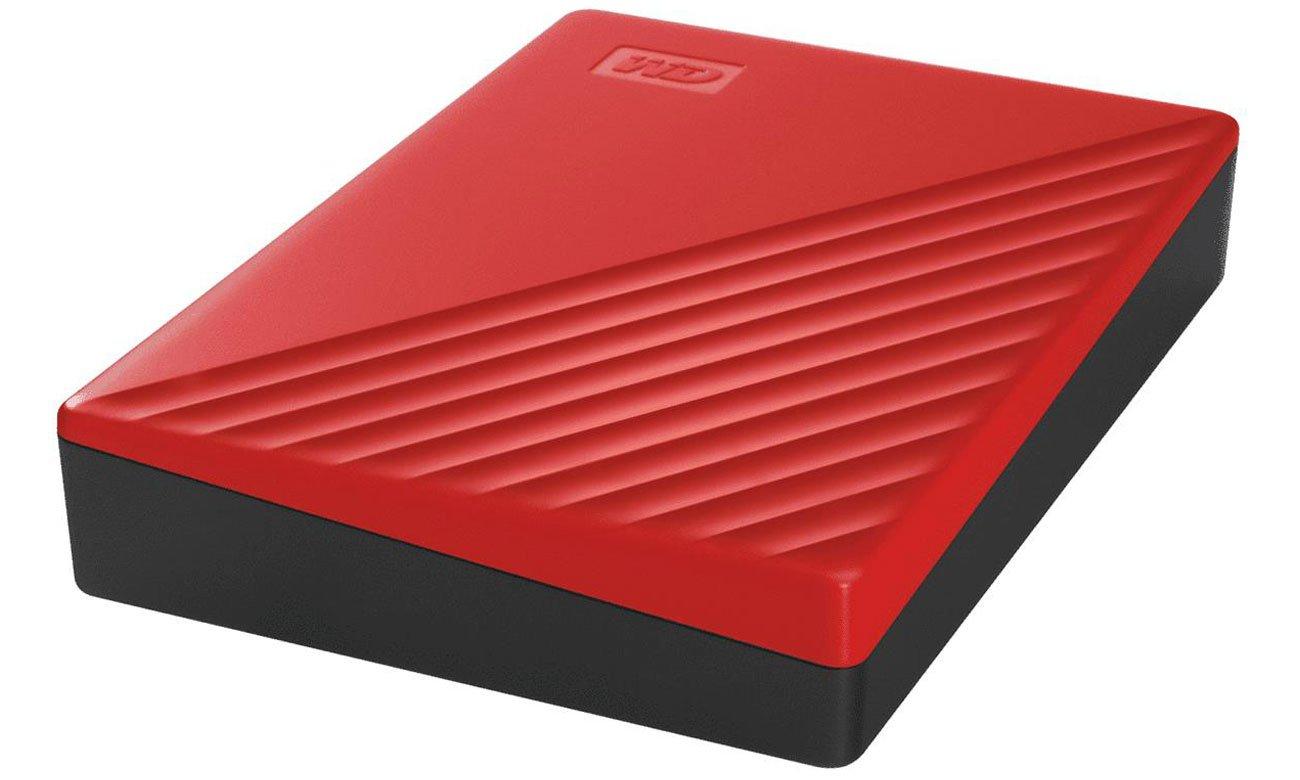 Przenośny dysk HDD WD My Passport 4TB Czerwony