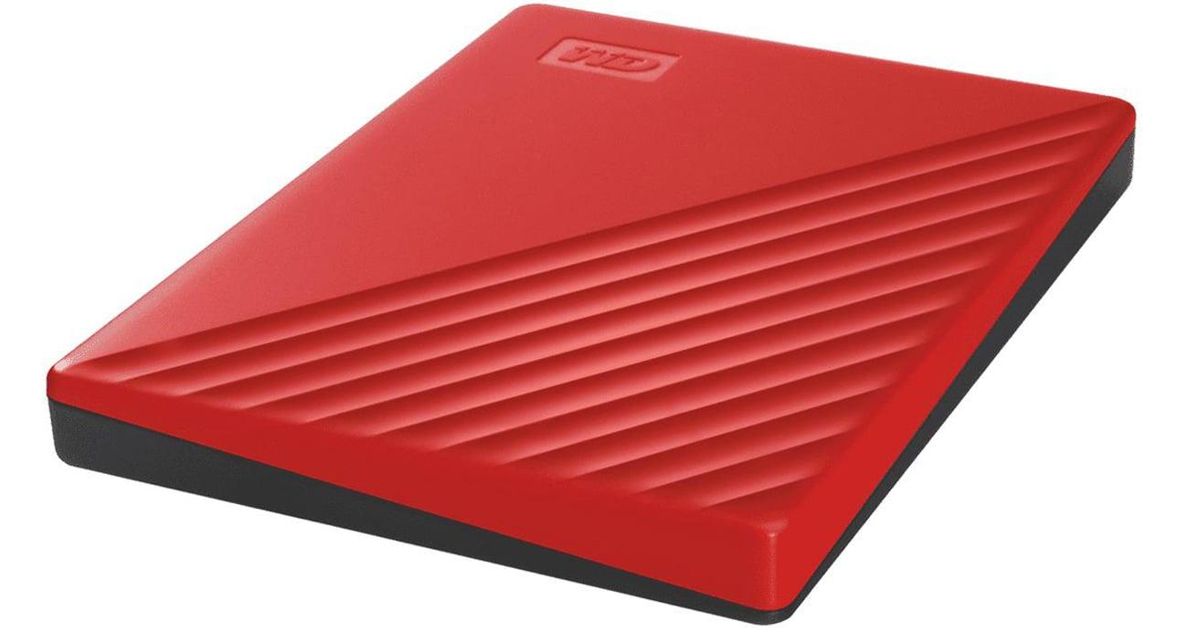 Przenośny dysk HDD WD My Passport 2TB Czerwony