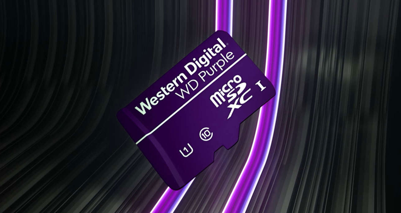 Karta pamięci WD Purple microSDXC