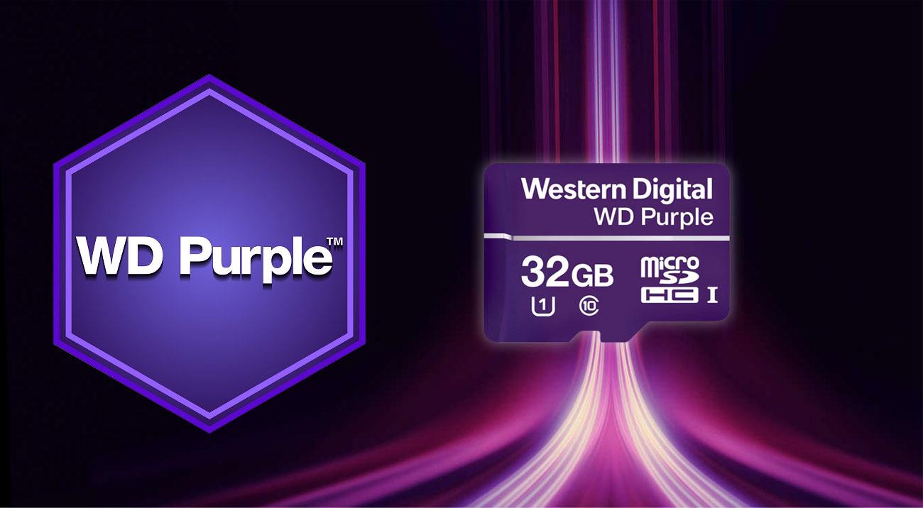 Karta pamięci WD Purple microSDXC 32GB