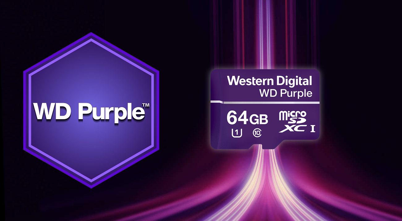 Karta pamięci WD Purple microSDXC 64GB