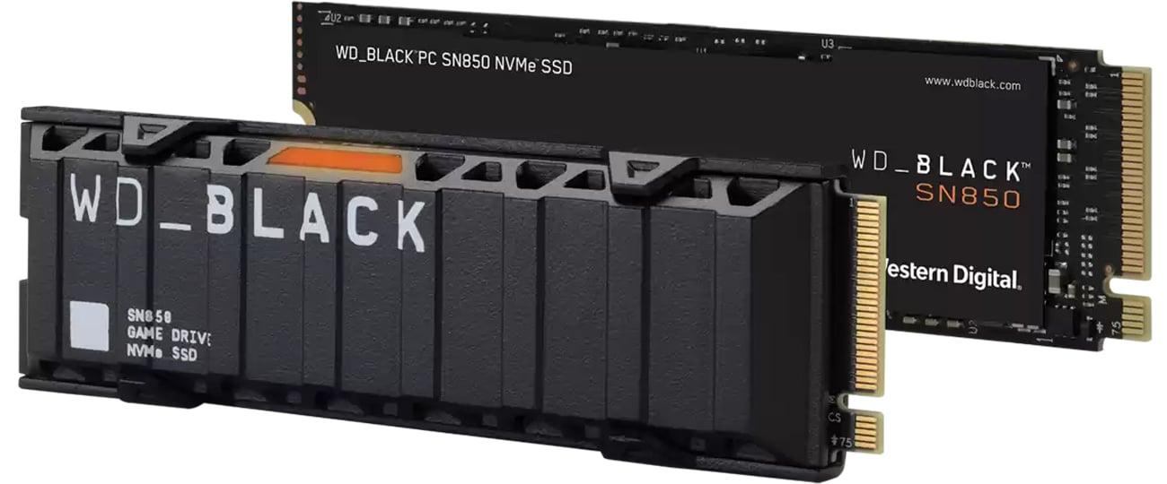 Dysk SSD WD_BLACK SN850 Heatsink NVMe 1TB