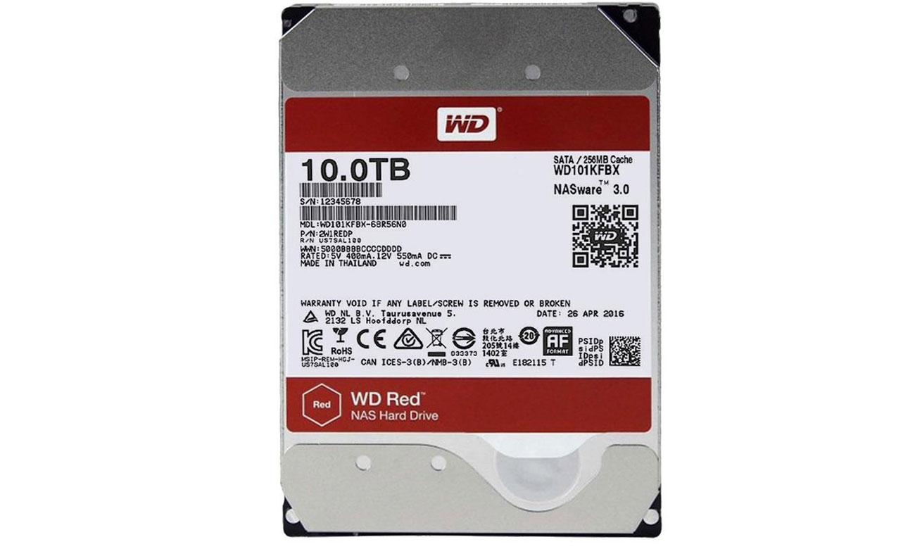 WD 10TB 7200obr. 256MB RED PRO WD101KFBX