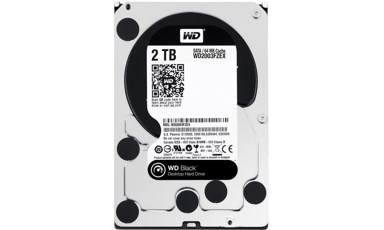 2TB 7200obr. 64MB BLACK