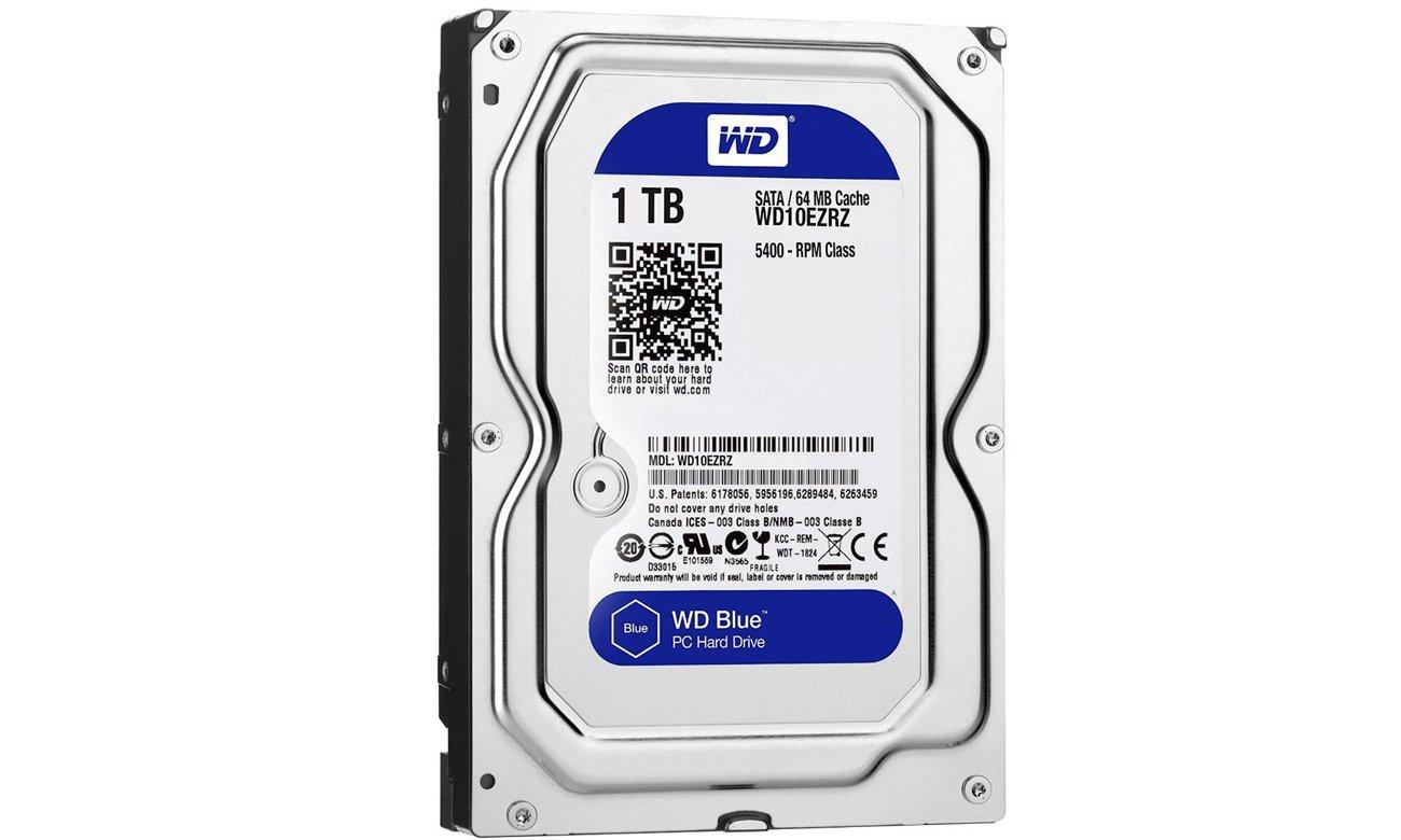 WD 1TB 5400obr. 64MB BLUE