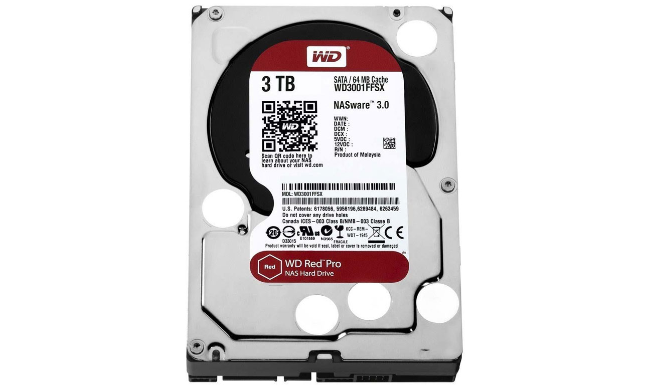 WD 3TB 7200obr. 64MB RED PRO acronis true image WD edition
