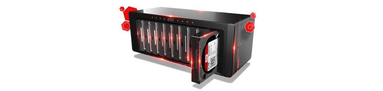 WD 3TB 7200obr. 64MB RED PRO wydajność pracy
