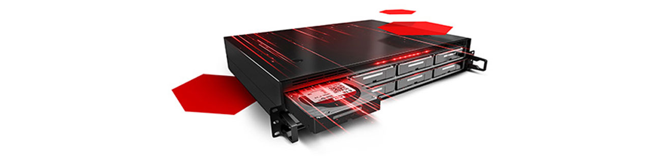 WD 3TB 7200obr. 64MB RED PRO szybki i pewny transfer