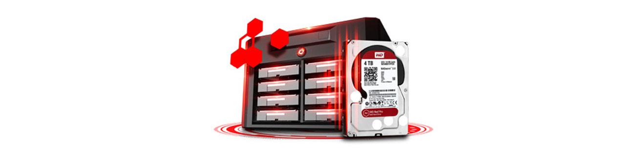 WD 3TB 7200obr. 64MB RED PRO optymalna wydajność