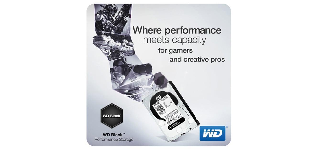 Dysk twardy SATA III WD 4TB 7200obr. 64MB BLACK