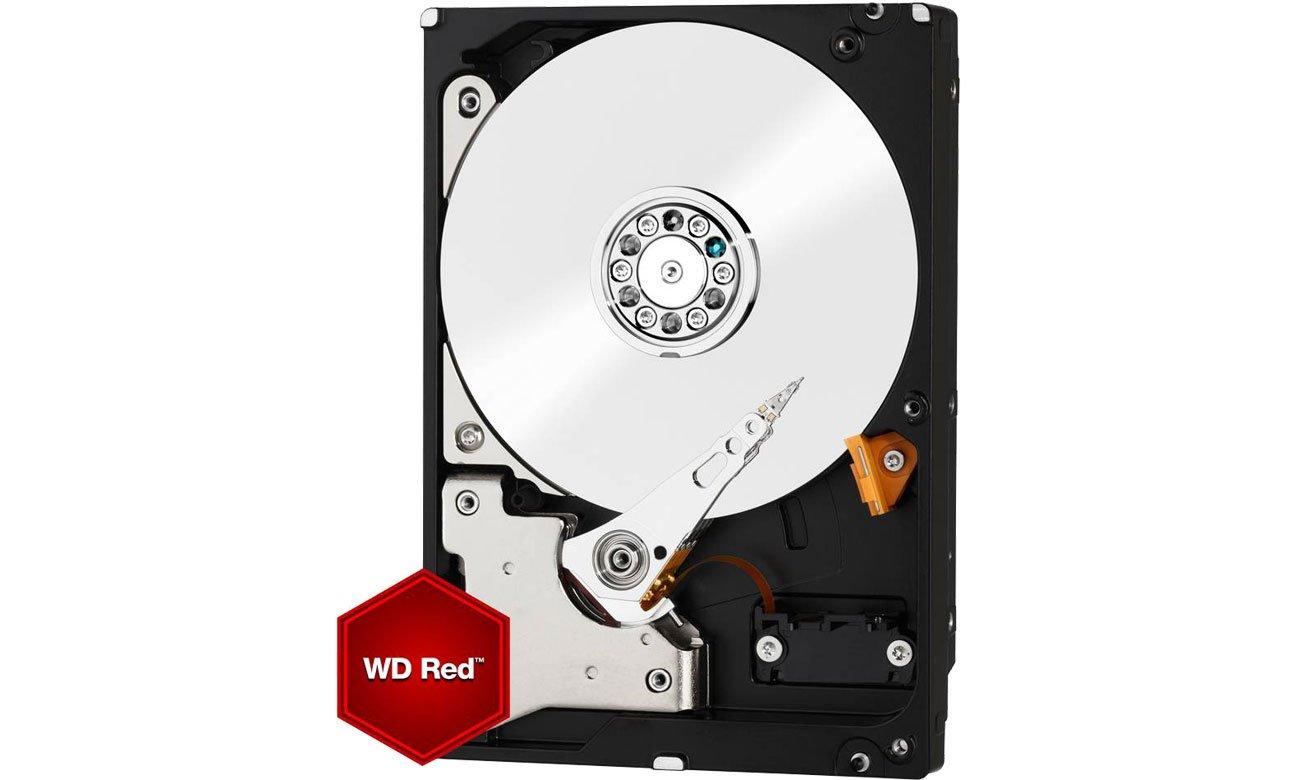 WD 6TB IntelliPower 64MB RED dysk twardy pojemność 6TB