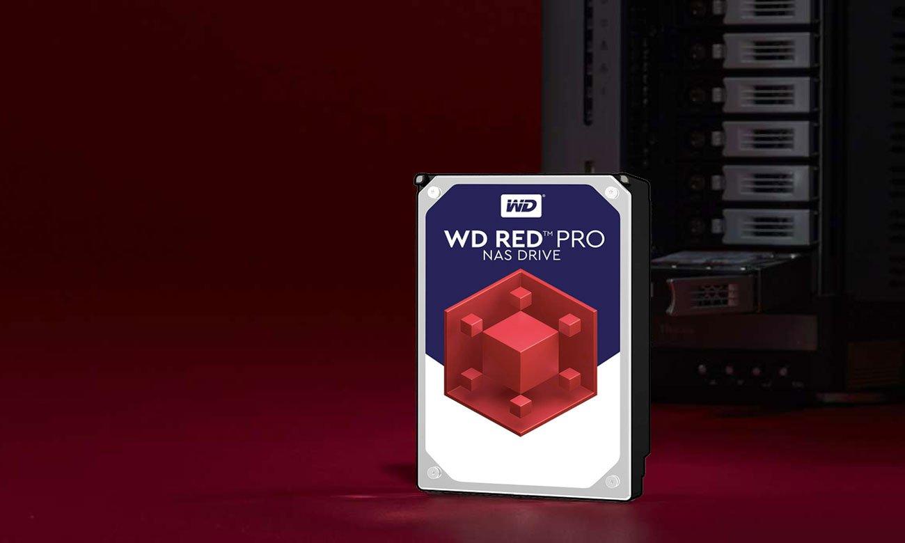 WD 4TB 7200obr. 256MB RED PRO WD8003FFBX Profesjonalne rozwiązania