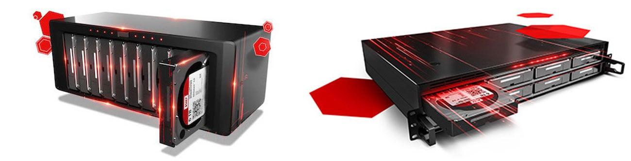 WD 4TB 7200obr. 256MB RED PRO WD8003FFBX NAS dla dużych przedsiębiorstw