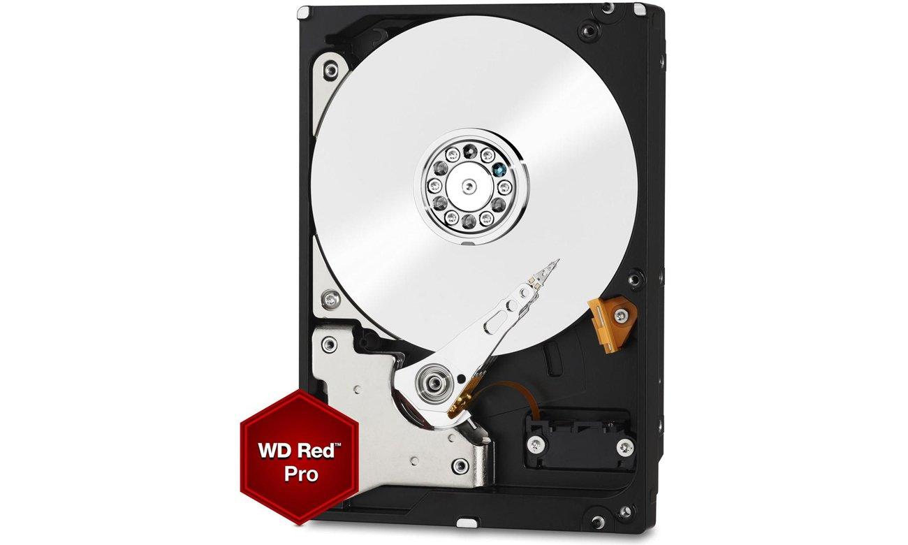 WD 8TB 7200obr. 256MB RED PRO WD8003FFBX Większa ochrona przed uderzeniem w kieszeni NAS